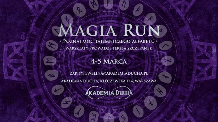 MAR 4 Akademia ducha MAGIA RUN - Poznaj Moc Tajemniczego Alfabetu (Custom)