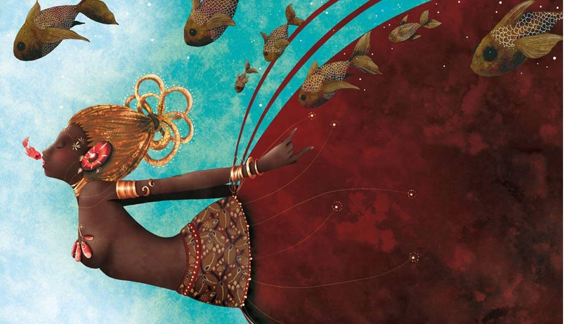 Bogini Oshun – świadoma swej zmysłowości bogini płodności ipiękna