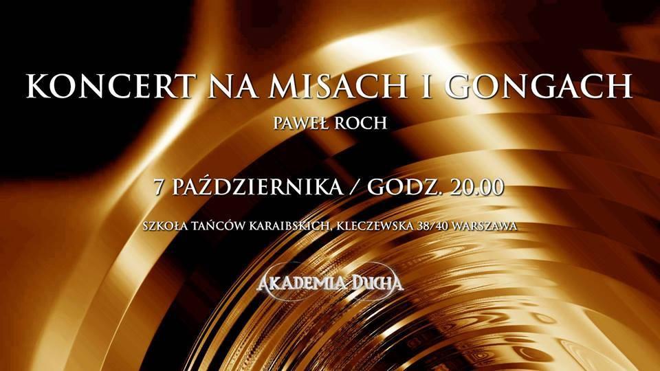 Koncert mis igongów – Paweł Roch
