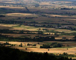 Widok z Gór Świętokrzyskich źródło: www.pixabay.com