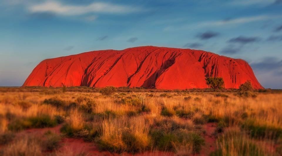 miejsce mocy Uluru