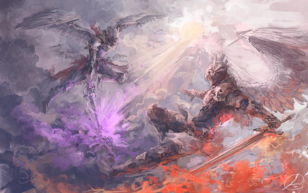 wojna aniołów