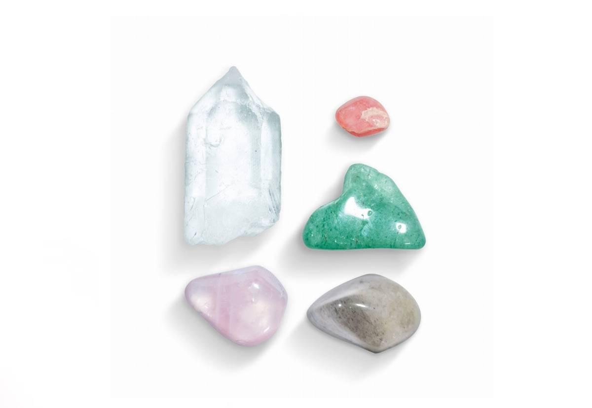 zestaw minerałów na miłość
