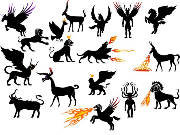 stworzeń mitologicznych