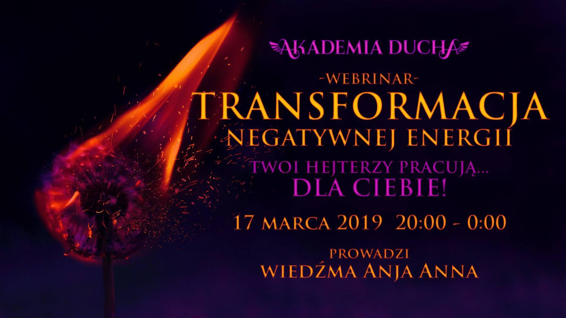 Transformacja Negatywnej Energii